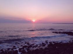 Sun set at Concolasao