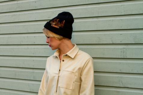 Women's wool blend shirt for snowboarding