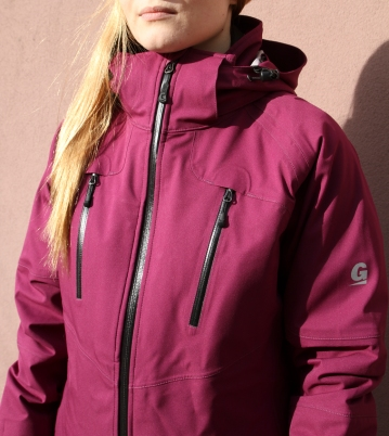 wmns snow jacket front