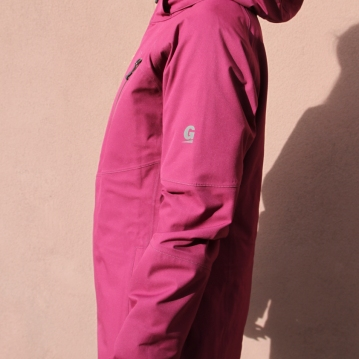 wmns snow jacket side